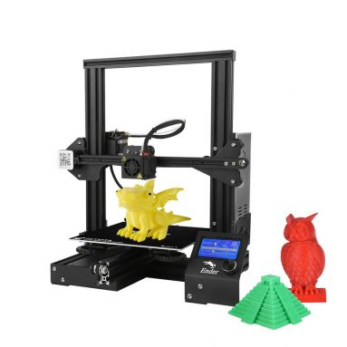 49% OFF Creality 3D Ender-3 3D Printer Kit With 5 Meters Filament,limited offer $174.99 from TOMTOP Technology Co., Ltd