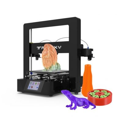 45% OFF Tronxy X6-2E Simple Assembly 3D Printer Kit,limited offer $349.99 from TOMTOP Technology Co., Ltd