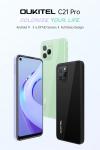 84 євро з купоном на OUKITEL C21 Pro Глобальна версія 4 ГБ 64 ГБ 6.39 дюймовий Android 11 4000 мАг 21MP Основна камера Helio P22 Восьмиядерний 4G смартфон від BANGGOOD