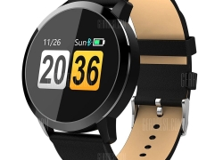 $26 with coupon for OUKITEL W1 Smart Watch 150 Days Long Standby Time  –  BLACK from GearBest