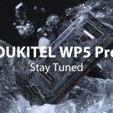 €101 with coupon for OUKITEL WP5 Pro Global Version 5.5 inch IP68/IP69K Waterproof 8000mAh Android 10 13MP Triple Rear Camera 4GB 64GB MT6762D 4G Smartphone from BANGGOOD