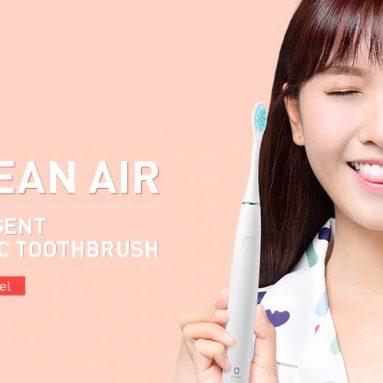 $ 36 với phiếu giảm giá cho Oclean Air Intelligent APP Điều khiển Sonic Bàn chải đánh răng điện - WHITE từ GearBest