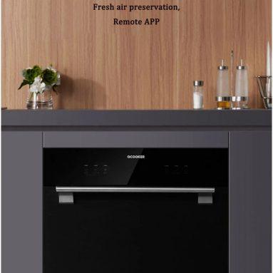 Xiaomi YoupinのOcooker Internet Smart Dishwasher Machineのクーポン付き€592、BANGGOODのホームデスクトップキャビネット用インテリジェント自動AI食器洗い機