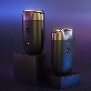 € 13 के लिए कूपन के साथ ओलेबो ए 1 डबल हेड इलेक्ट्रिक शेवर यूएसबी टाइप-सी क्विक चार्जिंग इंडिपेंडेंट फ्लोटिंग कटर IPX7
