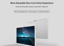 €130 with coupon for Onda X20 32GB MTK MT6797 Deca Core 10.1 Inch Android 7.1 Dual 4G Tablet from BANGGOOD