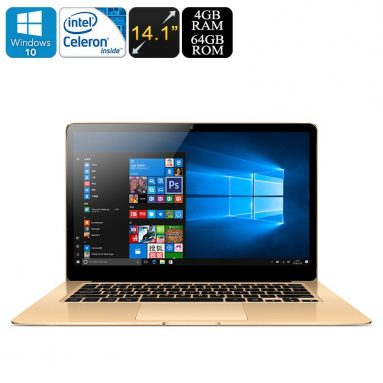 €161 with coupon for Onda Xiaoma 41 Laptop 14.1 inch Win 10 Intel Core Apollo Lake Celeron N3450 4GB RAM 64GB eMMC 2.0MP front camera English Version from BANGGOOD