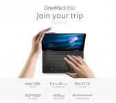 906 € s kuponom za ONE-NETBOOk One Mix 3 Pro I7 10510Y 16 GB RAM-a 512 GB PCI-E SSD 8.4-inčni Windows 10 Tablet iz EU CZ skladišta BANGGOOD
