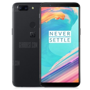 $561 with coupon for OnePlus 5T 4G Phablet8GB RAM 128GB ROM Global Version  –  BLACK from GearBest