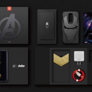 €616 with coupon for OnePlus 6 4G Phablet 8 GB RAM 256 GB ROM – MARVEL AVENGERS LIMITED EDITION from GEARBEST