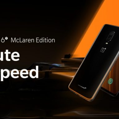 €711 with coupon for OnePlus 6T McLaren 4G Phablet – ORANGE from GearBest