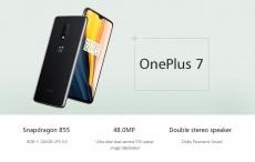 361 s kupónem pro OnePlus 7 6.41 Inch FHD + displej AMOLED Waterdrop 60Hz NFC 3700mAh 48MP Zadní kamera 8GB 256GB Snapdragon 855 Octa Core UFS 3.0 4G Smartphone - zrcadlový šedý globální Rom od firmy BANGGOOD
