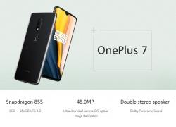 400 s kupónom pre OnePlus 7 6.41 Inch FHD + AMOLED Waterdrop displej 60Hz NFC 3700mAh 48MP Zadná kamera 8GB 256GB Snapdragon 855 Octa Core UFS 3.0 4G Smartphone - zrkadlovo šedý globálny Rom od firmy BANGGOOD
