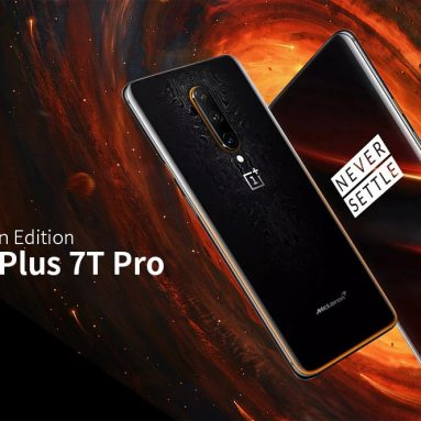 € 740 مع كوبون لـ OnePlus 7T Pro McLaren Edition النسخة الدولية 4G Phablet 6.67 inch Oxygen OS Snapdragon 855 Plus Octa Core 12GB RAM 256GB RAM 3GB ROM Camera 4085mAh Battery