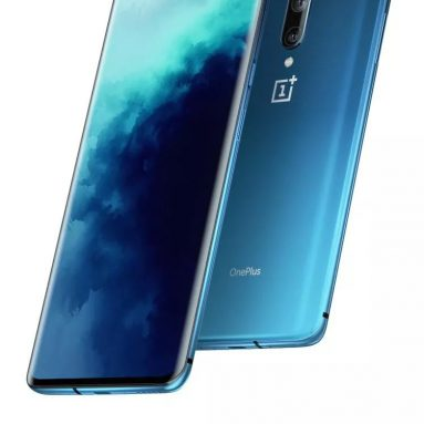 € 599 med kupong for OnePlus 7T Pro 4G Phablet International Versjon 6.67 tommers oksygen OS Snapdragon 855 Plus Octa Core 8GB RAM 256GB ROM 3 Bakkamera 4085mAh Batteri - Blue International Versjon fra GEARBEST