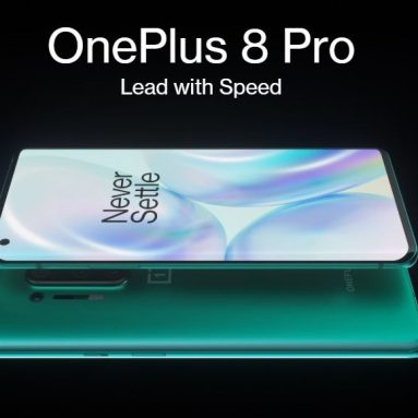 €775 with coupon for OnePlus 8 Pro 5G Global Rom 12GB 256GB Smartphone from BANGGOOD
