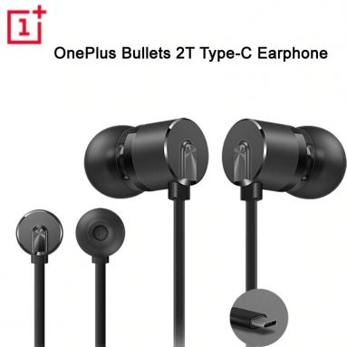 $19 with coupon for Original OnePlus Type-C Bullets Earphones OnePlus Bullets 2T In-Ear Headset With Remote Mic from ALIEXPRESS