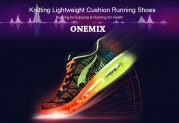 $39 with coupon for Onemix Knitting Lightweight Cushion Running Shoes from Gearbest