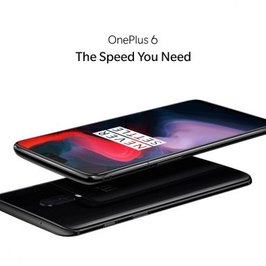 €315 with coupon for OnePlus 6 6.28 Inch 19:9 AMOLED Android 8.1 6GB RAM 64G ROM EU WAREHOUSE from BANGGOOD