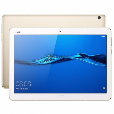 €238 with coupon for Original Box Huawei MediaPad M3 Lite 10 BAH-W09 64GB MSM8940 10.1 Inch Android 7.0 Tablet Gold from BANGGOOD
