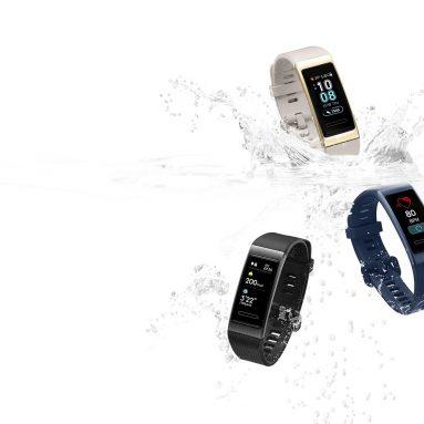 € Orijinal Huawei Band için kuponlu 36 3 Pro AMOLED Renkli Ekran GPS'den üretilmiş 5ATM BANGGOOD'dan Kalp Hızı Metal Çerçeve Akıllı Watch Band