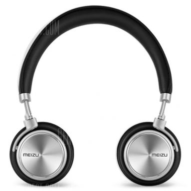 $47 with coupon for Original Meizu HD50 Hi-Fi Over-ear Headphones BLACK from Gearbest