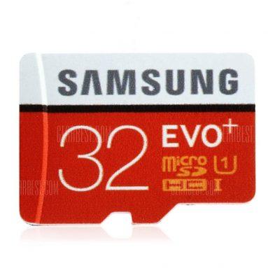 $ 7 với phiếu mua hàng cho Thẻ nhớ Samsung UHS-1 32GB Micro SDHC gốc - 32GB ORANGE từ GearBest