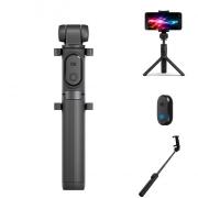 € 12 s kuponem pro originální Xiaomi 2 v 1 Bluetooth Mini rozšiřitelný skládací stativ Selfie Stick pro mobilní telefon - černý od společnosti BANGGOOD