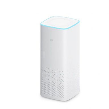 $74 with coupon for Original Xiaomi AI Bluetooth 4.1 Speaker Music Player  –  WHITE from GearBest