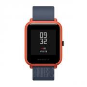 $ 55 med kupong för Original Xiaomi Huami AMAZFIT Bip Lite-version Smart Watch - INTERNATIONAL VERSION ORANGE från GearBest