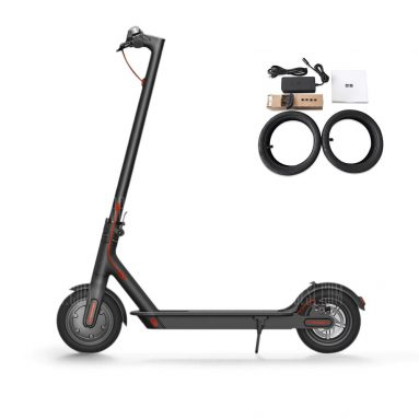 €316 with coupon for Original Xiaomi M365 Folding Electric Scooter Europe Version  –  BLACK EU warehouse from GearBest