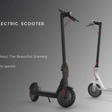 $ 399 sa kupon para sa Orihinal na Xiaomi M365 Folding Electric Scooter Europe Version - WHITE EU warehouse mula sa GearBest
