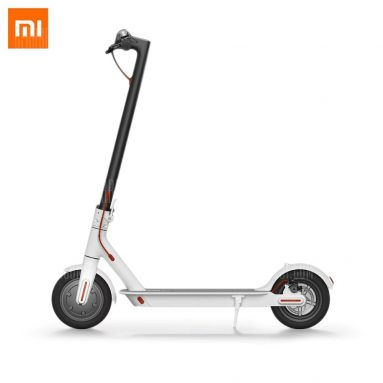€276 with coupon for Original Xiaomi M365 Folding Electric Scooter  –  WHITE EU warehouse from GearBest