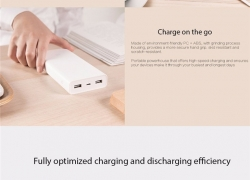 $25 with coupon for Original Xiaomi Mi 20000mAh 2c Mobile Power Bank Quick Charge Battery Portable Charger from Lightinthebox