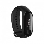 € 20 med kupon til Xiaomi Mi-bånd 3 Smart Watch OLED-skærm Heart Rate Monitor Armbånd International Version - Sort fra BANGGOOD
