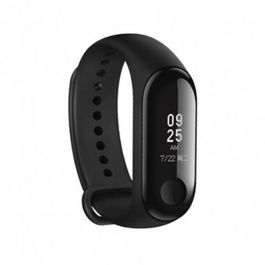 €20 with coupon for Xiaomi Mi band 3 Smart Watch OLED Display Heart Rate Monitor Bracelet International Version – Black from BANGGOOD