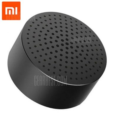 $9 with coupon for Original Xiaomi Mi Speaker Bluetooth 4.0  –  GRAY from GearBest