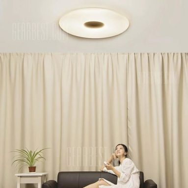 $69 with coupon for Xiaomi Mijia PHILIPS Zhirui LED Ceiling Lamp  –  CEILING LIGHT  WHITE from GearBest