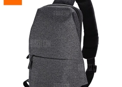 $14 with coupon for Original Xiaomi Sling Bag – DEEP GRAY from GearBest