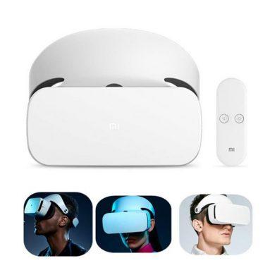 원래 Xiaomi VR 안경에 대한 쿠폰이 포함 된 63 BANGGOOD의 리모콘이있는 가상 현실 헤드셋