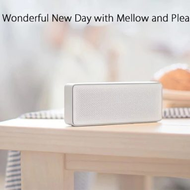 €27 with coupon for Original Xiaomi XMYX03YM Bluetooth 4.2 Speaker – SILVER from GearBest