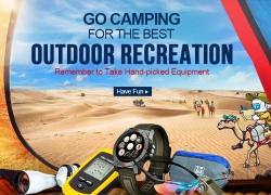 Best Outdoor Equipment Up to 60% OFF from DealExtreme