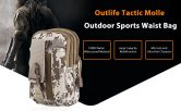 $1 with coupon for Outlife Waterproof Waist Bag from GearBest