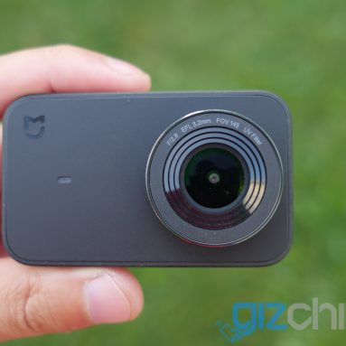 Xiaomi Mijia Action Camera Thống 4K Xem lại