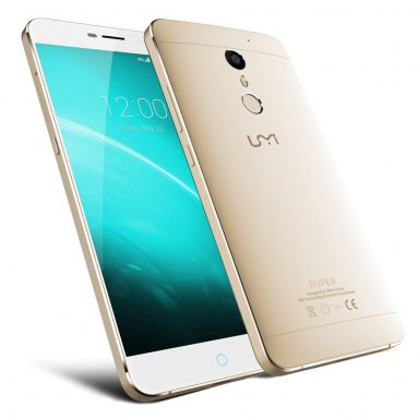 Extra $40 Off 100pcs Only UMI Super Smartphone w/ Free Shipping(Code: Super40) from TOMTOP Technology Co., Ltd