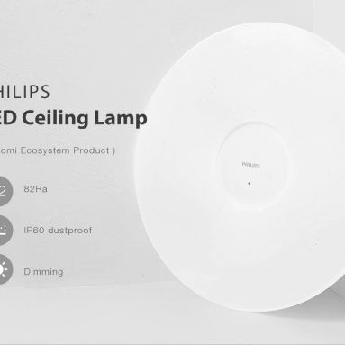 €72 with coupon for PHILIPS LED Ceiling Lamp ( Xiaomi Ecosystem Product ) from GEARBEST