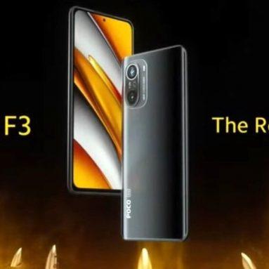 329 € s kuponom za POCO F3 globalnu verziju 6.67 inčni 120Hz E4 AMOLED zaslon 8GB 256GB 48MP trostruka kamera 4520mAh NFC Snapdragon 870 5G pametni telefon tvrtke BANGGOOD