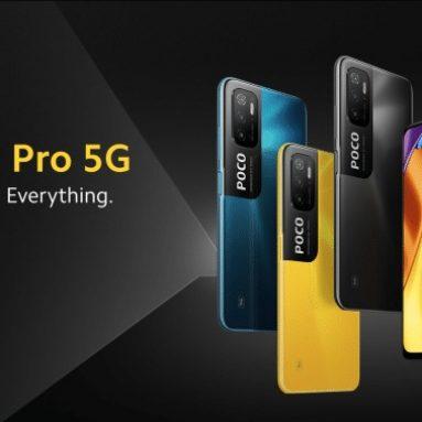 """155 € s kupónem pro smartphone Xiaomi POCO M3 Pro 5G Globální verze 4G 64GB NFC Smartphone, Octa-Core Dimensity 700, 5000mAh 90Hz FHD mobilní zařízení s 6.5 """"tečkou, 48MP trojitá kamera ze skladu EU GSHOPPER (pouze pro IT PL PT ES)"""