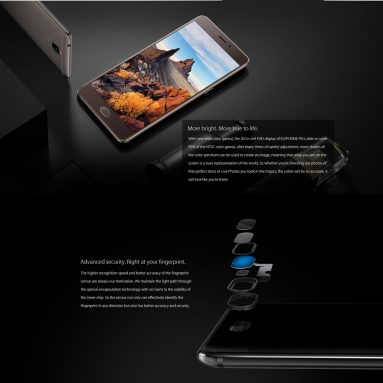 35% OFF Elephone P8 4G Smartphone 5.5 inches 6+64G,limited offer $162.99 from TOMTOP Technology Co., Ltd