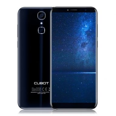 35% OFF CUBOT X18 Fingerprint 3GB +32GB ,limited offer $116.99 from TOMTOP Technology Co., Ltd