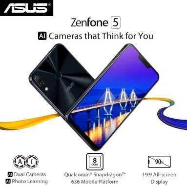 34% OFF ASUS Zenfone 6.2 Inches 4GB+64GB Smartphone,limited offer $394.99 from TOMTOP Technology Co., Ltd